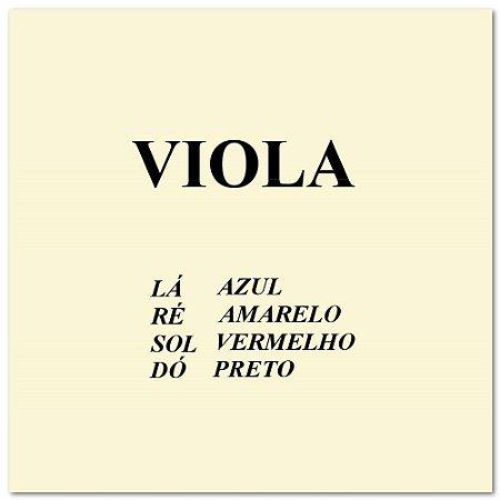 Encordoamento Viola Arco Mauro Calixto