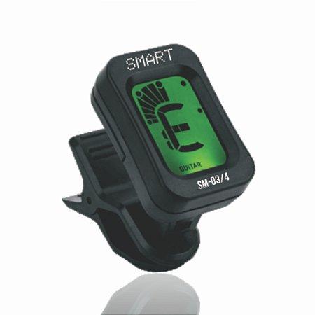 Afinador Digital Smart SM-03/4 Cromático de Clip