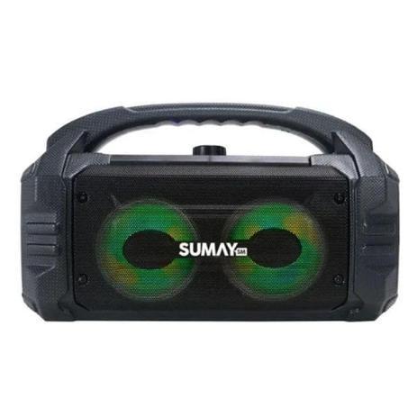 Caixa de Som Sumay Sunbox SM-CSP1304 50W Bluetooth