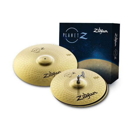 Set Prato Zildjian Planet Z Fundamentals 14HH + 18Crash/Ride