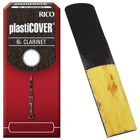 Palheta Clarinete Rico Plasticover - Unidade