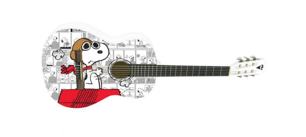 Violão Acústico PHX Clássico Nylon Snoopy Aviador