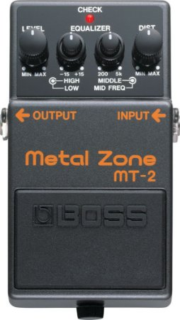 Pedal Guitarra Boss MT-2 Metal Zone