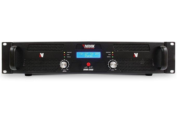 Amplificador de Potência Novik Neo 2500 2500W Rms