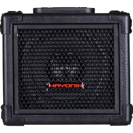 Caixa Multiuso Hayonik PLAYER 80 20W Rms USB com Bateria Interna Preta