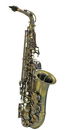 Saxofone Sax Alto Michael WASM46 Eb Escovado