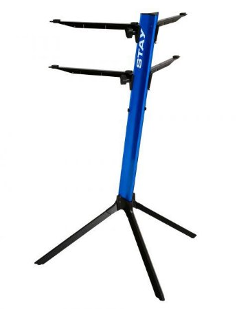 Suporte Teclado Stay Torre Duplo Slim 1100/2 Azul