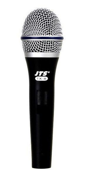 Microfone JTS TX-8, com fio