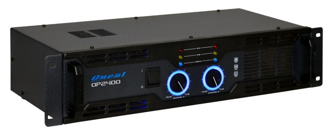Amplificador de Potência Oneal OP 2400 400W Rms