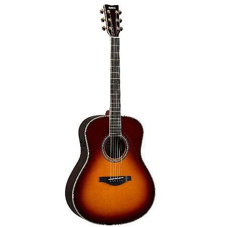 Violão TransAcoustic Yamaha Jumbo LL-TA Brown Sunburst c/ Bag