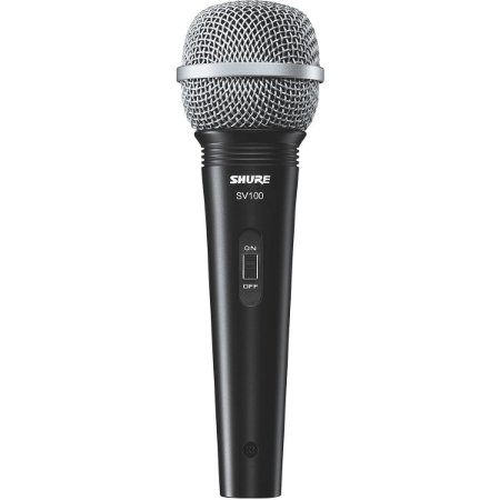 Microfone Shure SV-100, com fio