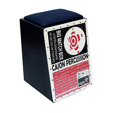 Cajon Eletroacústico C. Percussion Unic CJ-304