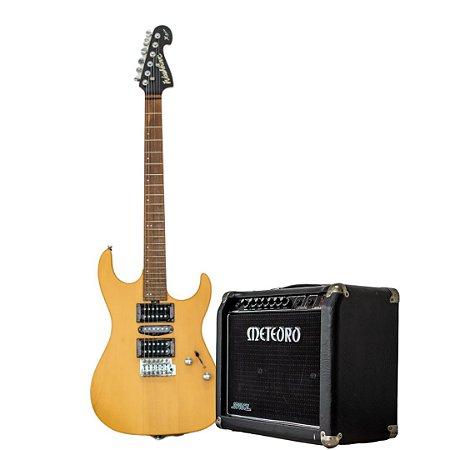 Combo Guitarra Washburn X-Series + Amplificador Meteoro Space 50W