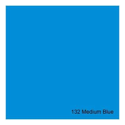 Gelatina para Refletores Rosco E-Colour 132 Medium Blue