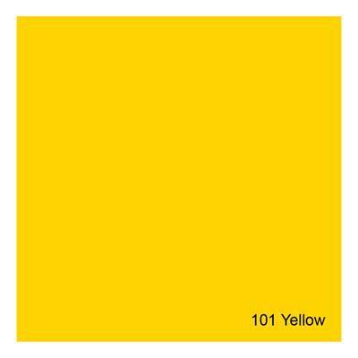 Gelatina para Refletores Rosco E-Colour 101 Yellow