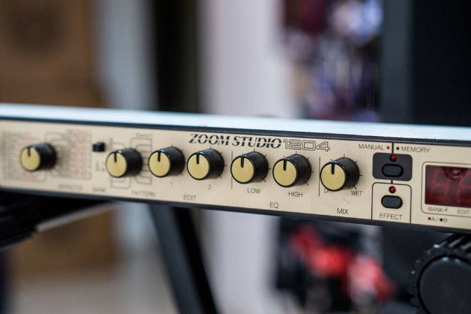 Processador de Efeitos Zoom Studio 1204