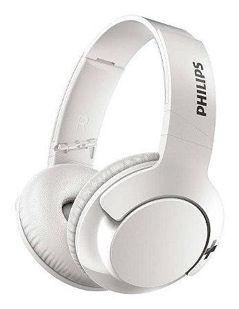 Fone de Ouvido Bluetooth On-Ear Philips SHB3075 Branco