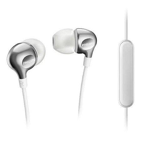Fone de Ouvido In-Ear Philips SHE3705 Branco