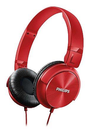 Fone de Ouvido On-Ear Philips SHL3060 Vermelho