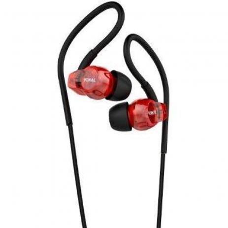 Fone de Ouvido In-Ear VOKAL E20 Vermelho