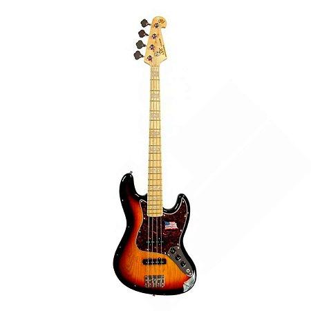 Contrabaixo SX SJB-75 Jazz Bass, Ash, 3TS