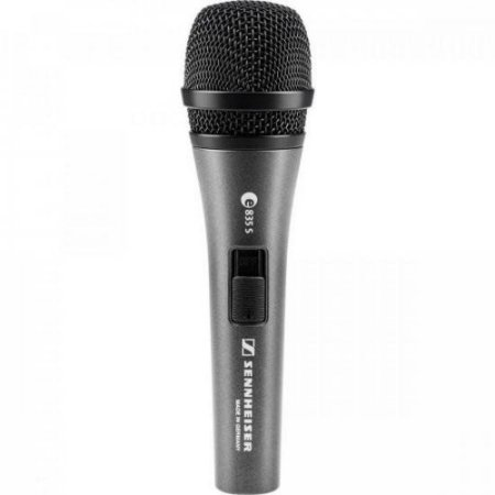 Microfone Sennheiser E835-S Dinâmico Cardióide Com Fio