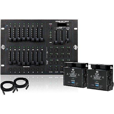 Mesa de Iluminação DMX 512 Stage Pak 1 Dimmer System