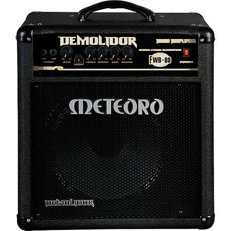 Amplificador Baixo Meteoro Demolidor FWB-80 80W