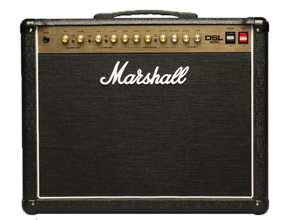Amplificador Guitarra Marshall DSL-40 CR-B 40W 110V