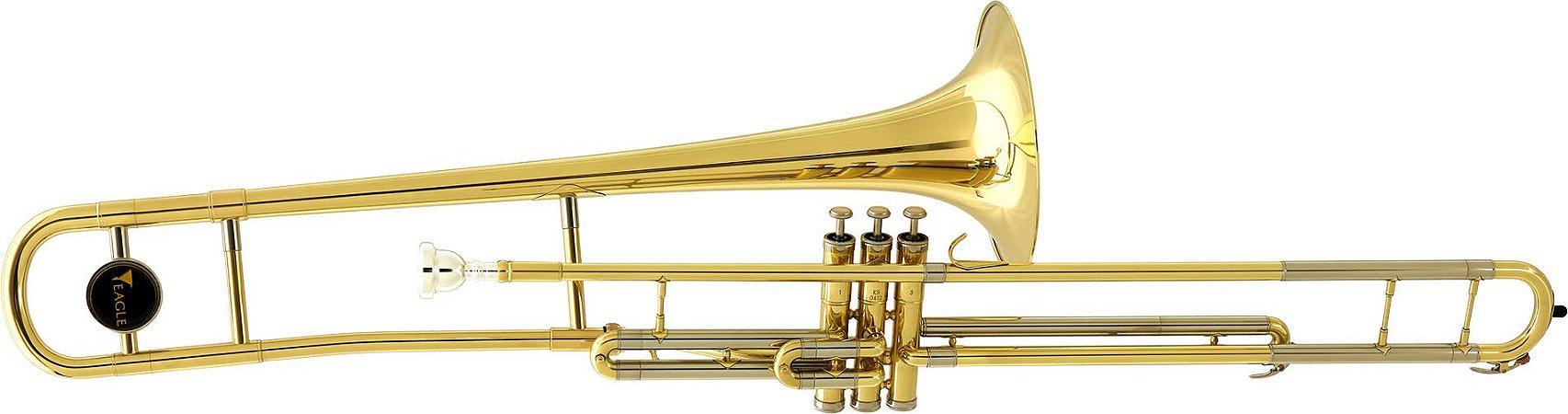 Trombone Pisto Eagle Longo TV-602 Sib