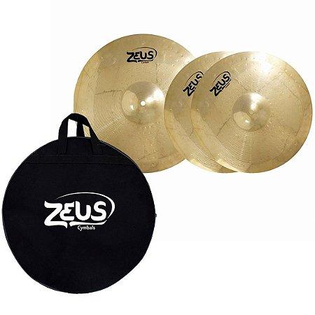"""Set Prato Zeus Beginner Set A 13"""" 16"""" Com Bag"""