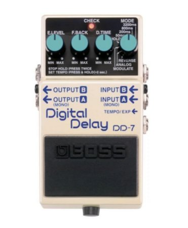 Pedal Boss DD-7 Digital Delay