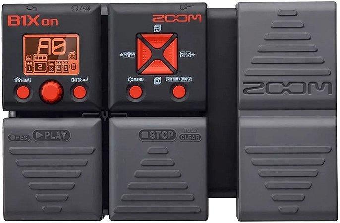Pedaleira Para Contrabaixo Zoom B1Xon
