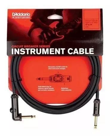 Cabo D'Addario Instrumento P10/P10 90° L Circuit Breaker 3,05M