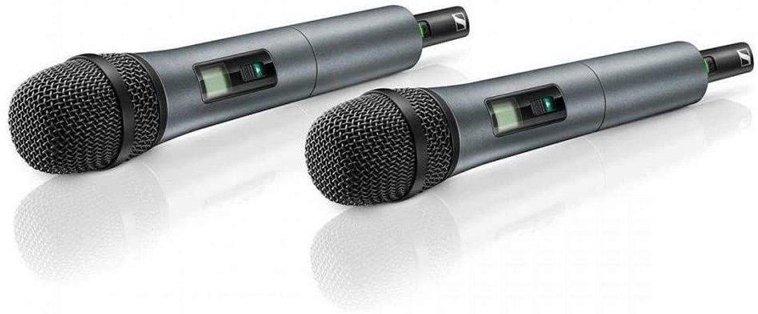 Microfone Sennheiser XSW 1-835 Duplo Sem Fio