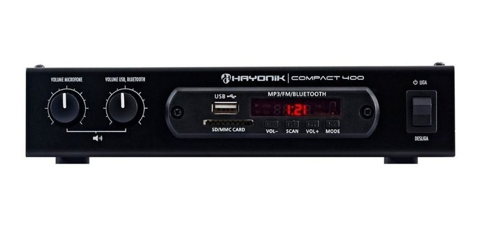 Receiver Hayonik 400 Compact Bluetooth 40w