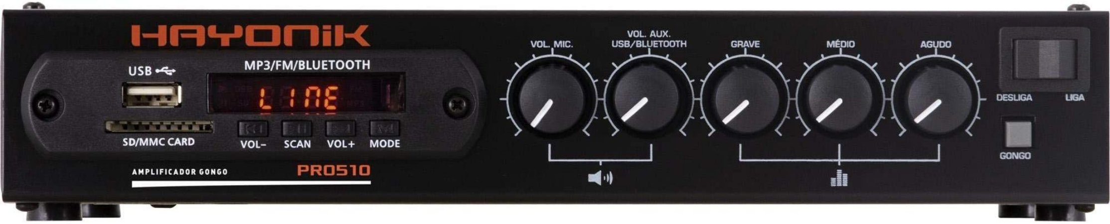 Receiver Hayonik PRO-510 Bluetooth 50W RMS
