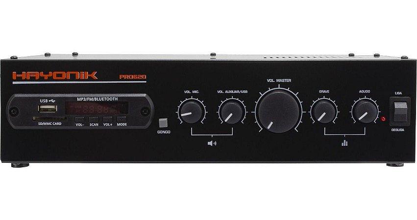 Receiver Hayonik PRO-620 Bluetooth 100W RMS