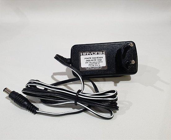 Fonte Hayonik FCTP 1202i 12VDC 2A Chaveada Para Uso Geral