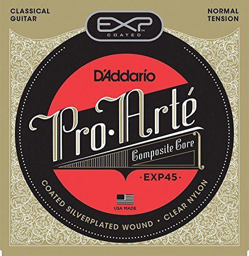 Encordoamento Violão D'Addario Pro Arté EXP-45 Tensão Normal