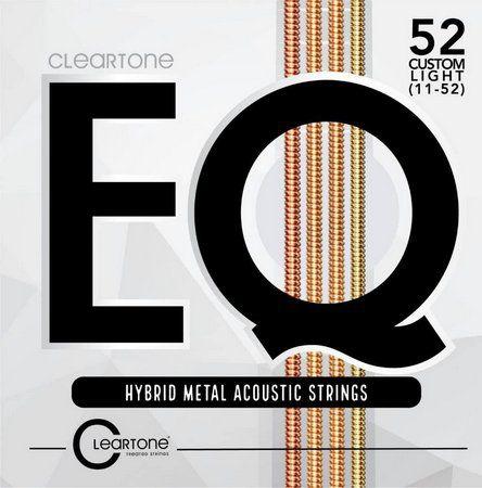 Encordoamento Violão Aço Cleartone EQ Hybrid Metal Tensão Leve Custom 11