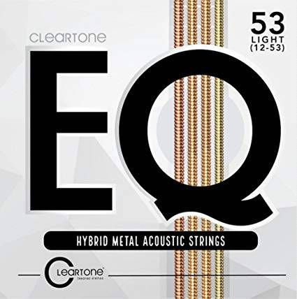 Encordoamento Violão Aço Cleartone EQ Hybrid Metal Tensão Leve 12