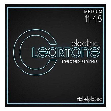 Encordoamento Guitarra Cleartone Tensão Média 11-48