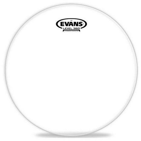 "Pele Evans Clear G1 12"" Transparente TT12G1"