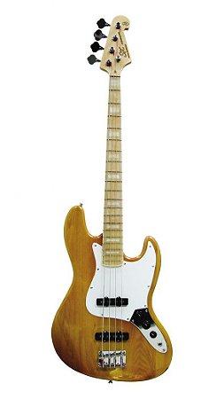 Contrabaixo SX SJB-75 Jazz Bass, Ash, Natural