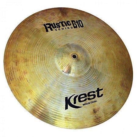 "Prato Krest Rustic B10 Medium Crash 16"""