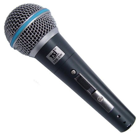Microfone TSI 58B-SW Com fio