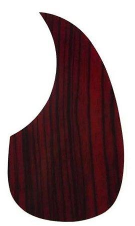 Escudo Violão Ronsani Gota Wood Vermelho