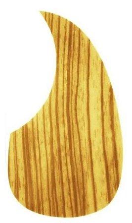 Escudo Violão Ronsani Gota Wood Amarelo