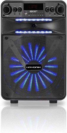 Caixa Multiuso Portátil Hayonik GO!Power 200 20W RMS Bluetooth/MicroSD/USB/FM c/ Bateria